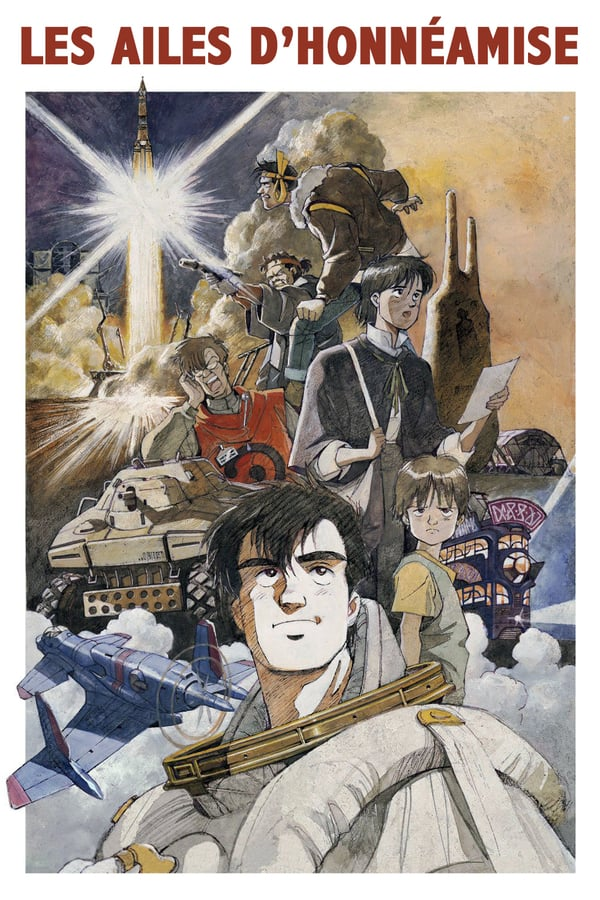Royal Space Force: The Wings of Honneamise (1987)